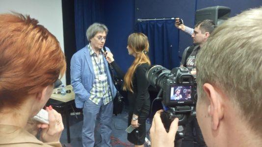 Владимир Ерёмин голос Альпачино интервью студия Soundbox